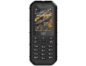 "Cat B26 crni mobilni 2.4"" Single Core Spreadtrum SC6531F 260MHz 8MB 8MB 2Mpx Dual Sim"