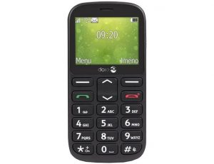 """Doro 1360 crni mobilni 2.4"""" 0.8Mpx Dual Sim"""
