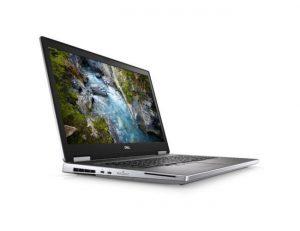 """Dell Precision M7740 (NOT15189) laptop 17.3"""" UHD Intel Octa Core i9 9880H 16GB 512GB SSD Quadro RTX4000 Win10 Pro srebrni"""
