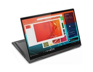 "Lenovo Yoga C740-14IML (81TC00BBYA) 2u1 laptop Intel® Quad Core™ i5 10210U 14"" touch FHD 8GB 512GB SSD Intel® UHD Graphics Win10 sivi"