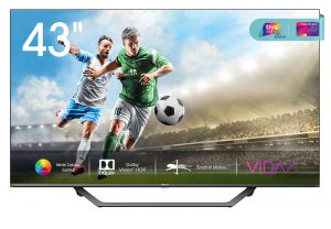 "Hisense H43A7500 Smart TV 43"" 4K Ultra HD DVB-T2"