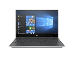 "HP Pavilion x360 15-dq1027nm (2A9W4EA) 2u1 laptop Intel® Hexa Core™ i7 10750H 15.6"" FHD touch 16GB 256GB SSD Intel® UHD Graphics Win10 srebrni"