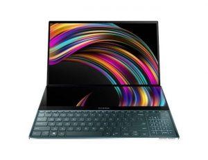 "Asus ZenBook Pro Duo UX581LV-H2002R laptop Intel® Hexa Core™ i7 10750H 15.6"" UHD 16GB 1TB SSD GeForce RTX2060 Win10 Pro plavi"