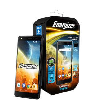 "Energizer Powermax P490S (UPENP490SBEU2) crni mobilni 4.95"" Quad Core Mediatek MTK6739WA 1.3GHz 2GB 16GB 8Mpx Dual Sim"