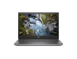 """Dell Precision M7750 (NOT16528) laptop Intel® Octa Core™ i7 10875H 17.3"""" FHD 16GB 512GB SSD Quadro RTX4000 Win10 Pro sivi"""