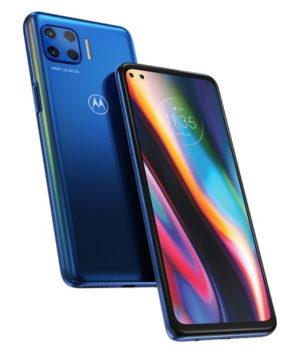 """Motorola Moto G 5G Plus 128GB plavi mobilni 6.7"""" Octa Core Snapdragon 765 6GB 128GB 64Mpx+8Mpx+5Mpx+2Mpx Dual Sim"""