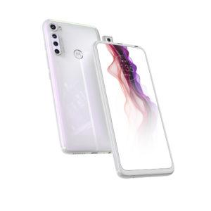 """Motorola One Fusion+ 128GB beli mobilni 6.5"""" Octa Core Snapdragon 730 6GB 128GB 64Mpx+8Mpx+5Mpx+2Mpx Dual Sim"""