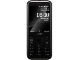 "Nokia 8000 DS crni mobilni 2.8"" Quad Core Snapdragon 210 512MB 4GB 2Mpx Dual Sim"
