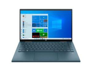 "HP Pavilion x360 14-dy0027nm (4Q619EA) 2u1 laptop Intel® Quad Core™ i3 1125G4 14"" FHD Touch 8GB 512GB SSD Intel® UHD Graphics Win10 plavi"